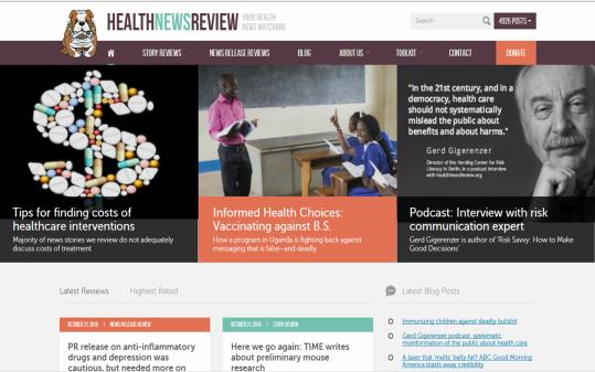 healthnewsreview